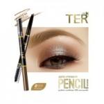 TER Masterpiece 3D Waterproof Auto Eyebrow Pencil # 01 Gold Brown