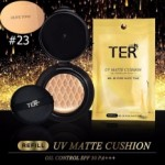 TER UV Matte Cushion Oil Control SPF50 PA+++ #23 Olive Tone (รีฟิล) 15g