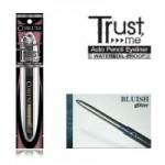 COSLUXE AUTO PENCIL EYELINER:TRUST ME #Bluish