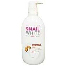 Snail White CREAM BODY WASH DEEP MOISTURE สเนลไวท์ ครีมอาบน้ำสูตร ดีพ มอยส์เจอร์ 200ml