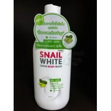Snail White CREAM BODY WASH ANTI-AGING สเนลไวท์ ครีมอาบน้ำสูตร แอนไท เอจจิ้ง 80ml