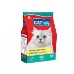 แคท เอ็นจอย Cat'n Joy ชนิดเม็ด รสไก่และทูน่า สำหรับแมวโตทุกสายพันธุ์ 400 กรัม