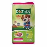 ด็อก เอ็นจอย Dog'n Joy ชนิดเม็ด สำหรับสุนัขโตทุกสายพันธุ์ รสเนื้อแกะ 20 kg