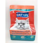 แคท เอ็นจอย Cat'n Joy ชนิดเม็ด รสกุ้งและปลาแซลมอน สำหรับแมวโตทุกสายพันธุ์ 400 กรัม