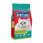 แคท เอ็นจอย Cat'n Joy ชนิดเม็ด สำหรับแมวโต ทุกสายพันธุ์ อายุ 1 ปีขึ้นไป รสปลาทูน่า ไก่ และกุ้ง 1.5 kg