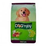 ด็อก เอ็นจอย Dog'n Joy ชนิดเม็ด สำหรับลูกสุนัข รสเนื้อตับอบนมเนย 20 kg