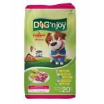 ด็อก เอ็นจอย Dog'n Joy ชนิดเม็ด สำหรับสุนัขโตทุกสายพันธุ์ รสเนื้อแกะ 9 kg