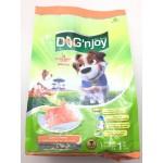 ด็อก เอ็นจอย Dog'n Joy ชนิดเม็ด สำหรับสุนัขโตทุกสายพันธุ์ สูตรปลาแซลมอน 1 kg