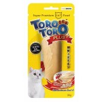 Toro Toro ขนมแมว สูตรเนื้อไก่ผสมโสมและเม็ดเก๋ากี้ 30 กรัม