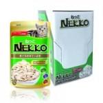 Nekko ชนิดเปียก รสทูน่าหน้าเนื้อไก่ ในเจลลี่ ขนาด 70 g ต่อซองจำนวน 12 ซอง