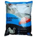 คาร์บอนคลีน Karbon Clean ทรายแมวชาร์โคลแซนด์ Charcoal Sand Ultra Premium Cat Litter ไร้ฝุ่น 95.98% (5 ลิตร)