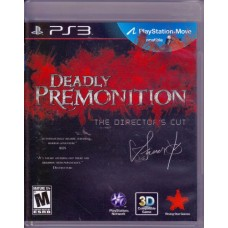 PS3: Deadly Premonition