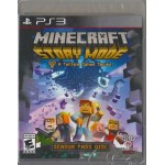 PS3: MINECRAFT STORY MODE A TELLTALE GAMES SERIES (Z-1)