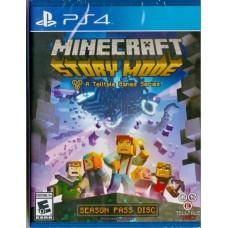 PS4: MINECRAFT STORY MODE A TELLTALE GAMES SERIES (Z-1)