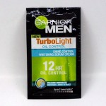 Garnier Men TurboLight Oil Control Whitening Serum Cream / ซอง