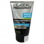 L'OREAL MEN EXPERT WHITE ACTIV OIL CONTROL CHARCOAL BRIGHTENING SCRUB 100ML