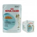 Royal Canin Hairball Care ชนิดเปียก สูตรป้องกันการเกิดก้อนขนสำหรับแมวโต 85g