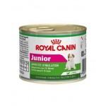 Royal Canin Mini Junior ชนิดเปียก สำหรับลูกสุนัขพันธุ์เล็ก ช่วงหลังหย่านม - อายุ 10 เดือน 195 กรัม