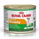 Royal Canin mini Adult Beauty ชนิดเปียก สำหรับสุนัขโตพันธุ์เล็ก สูตรบำรุงขน 195 กรัม