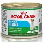 Royal Canin Mini Adult Light ชนิดเปียก สูตรควบคุมน้ำหนักให้รูปร่างดี สำหรับสุนัขพันธุ์เล็กอายุ 10 เดือน – 8 ปี 195 กรัม