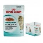 Royal Canin Instinctive +7 in jelly ชนิดเปียก สำหรับแมวโตอายุ 7 ปีขึ้นไป 85 กรัม