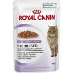 Royal Canin Sterilised in jelly ชนิดเปียก สำหรับแมวโตหลังทำหมัน 85 กรัม