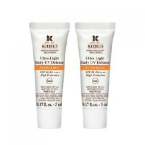 Kiehl's Ultra Light Daily UV Defense Sunscreen SPF50 PA++++ (5ml x 2)
