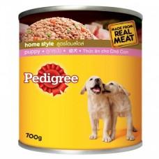 Pedigree ชนิดเปียก สูตรโฮมสไตล์ สำหรับลูกสุนัข 700 g