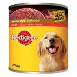 Pedigree ชนิดเปียก รสเนื้อวัว สูตรโฮมสไตล์ 700 g