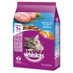 Whiskas ชนิดเม็ด รสปลาทะเล 1.2 kg สูตรแมวโต