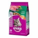 Whiskas ชนิดเม็ด รสปลาทูน่า 1.2 kg สูตรแมวโต
