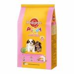 Pedigree ชนิดเม็ด รสนม 1.35 kg สูตร 3-12 เดือน