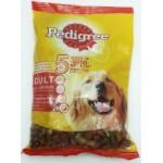 Pedigree ชนิดเม็ด รสเนื้อวัวและผัก 400 g สำหรับสุนัขโตเต็มวัย