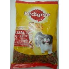 Pedigree ชนิดเม็ด รสเนื้อวัว เนื้อแกะและผัก 400 g สำหรับสุนัขพันธุ์เล็ก
