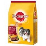 Pedigree ชนิดเม็ด รสตับย่าง 480 g สำหรับสุนัขพันธุ์เล็ก