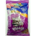 Whiskas ชนิดเม็ด รสปลาทู 400 g สูตรแมวโต