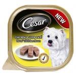ซีซาร์ Cesar ชนิดเปียก รสเนื้อไก่และตับบด 100 g