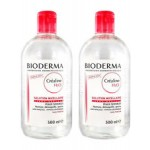 Bioderma Sensibio H2O Make-up Removing Micelle Solution (500mlx2)