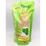 เพียวรีน Pureen Kids Yogurt เฮดทูโท วอช กลิ่นแอปเปิ้ล 600 ml. รีฟิล