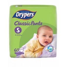 ดรายเพอร์ส Drypers Classic Pants ไซส์ S ห่อ 60 ชิ้น