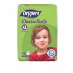ดรายเพอร์ส Drypers Classic Pants ไซส์ XL ห่อ 44 ชิ้น