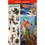 Zootopia Fun Pack (สมุดระบายสีนครสัตว์มหาสนุก + สมุดเกมนครสัตว์มหาสนุก + สติกเกอร์)