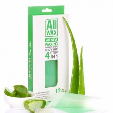 All Wax Waxing Perfect Strips #Aloe Vera 12 pcs