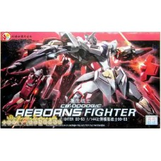 HG OO 1/144 (53) CB-0000G/C Reborns Fighter Gundam