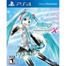 PS4: HATSUNE MIKU PROJECT DIVA X (ZALL)(EN) (แผ่นเกมส์ลดราคาพิเศษ)