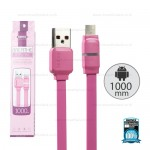 REMAX Cable Micro USB Pink (1M,Breathe)