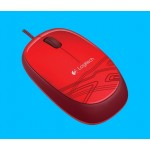 LOGITECH M105 MOUSE OPTICAL USB 1000DPI RED