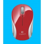 LOGITECH M187 WIRELESS MOUSE 2.4GHZ RED