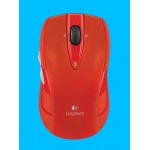 LOGITECH M545 WIRELESS MOUSE USB RED
