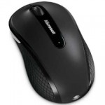 MICROSOFT Wireless Mobile Mouse 4000 BLACK